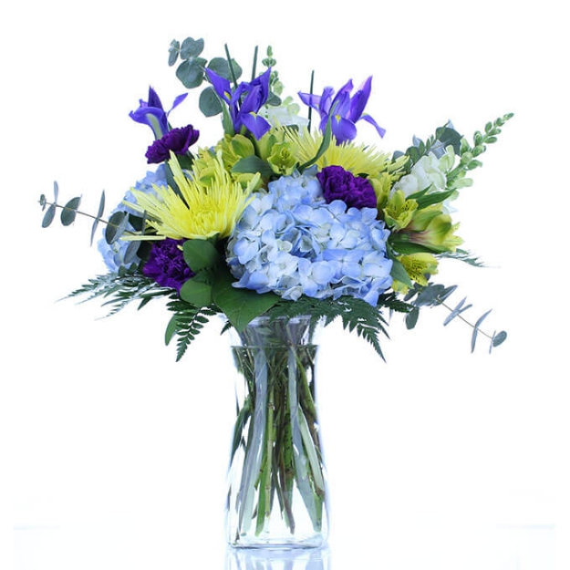 Picture of Blue Blooms