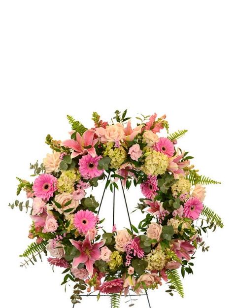 Picture of Pearl and Blush Wreath
