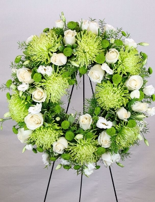 Funeral Flower Standing Sprays and Wreaths in Calgary Canada