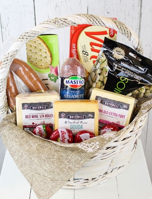 Picture of Charcuterie and Cheese Basket