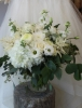 All white bouquet $195.00