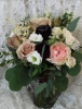 Blush and Burgundy bouquet $145.00