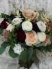 Blush and Burgundy bouquet $195.00