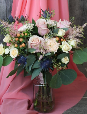Peach Bouquet $95.00