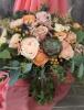 Peach Bouquet $195.00