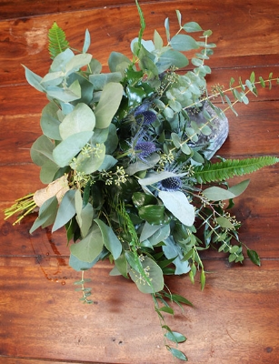 All greenery bouquet $95.00