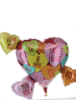 Picture of Extra Large Conversation Heart Balloon