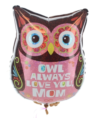 Picture of Owl Always Love you Balloon